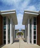 Campus Buildings Royalty Free Stock Photography