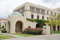 The campus of Caltech (California Institute of Technology). PASADENA, CA -The campus of Caltech (California Institute of Technology) in California. Home to many royalty free stock images
