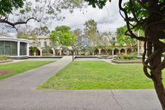 The campus of Caltech (California Institute of Technology). PASADENA, CA -The campus of Caltech (California Institute of Technology) in California. Home to many Royalty Free Stock Image
