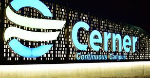 Campus continu de Cerner photographie stock libre de droits