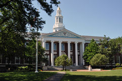 Campus d'école de commerce de Boston - de Harvard Photographie stock