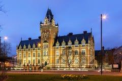 Campus d'université de Manchester Image libre de droits