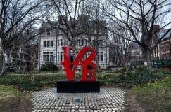 Campus d'Université de Pennsylvanie Photos libres de droits