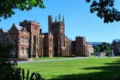 Campus de Belfast de la universidad de la reina imagen de archivo