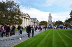 Campus de l'université Dublin de trinité Images libres de droits