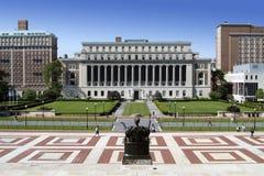 Campus de la universidad imagen de archivo