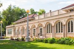 Campus de la universidad fotografía de archivo