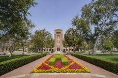 Campus de la Universidad de California del Sur fotografía de archivo libre de regalías