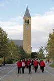 Campus de la Universidad Cornell en Ithaca Fotos de archivo