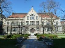 Campus de la Universidad de Chicago Foto de archivo libre de regalías