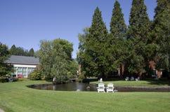 Campus de la universidad de Oregon imagenes de archivo