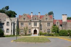 Campus de la universidad del bardo foto de archivo
