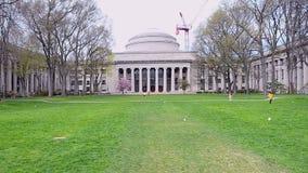 Campus de Massachusetts Institute of Technology (MIT), almacen de metraje de vídeo
