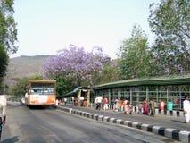 Campus de temple de Tirupati images libres de droits