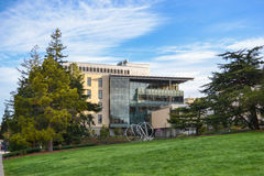 Campus de Universidad de California Imagen de archivo libre de regalías