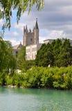 Campus de Universidad Northwestern Foto de archivo libre de regalías