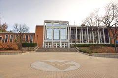 Campus de WVU - Morgantown, la Virginie Occidentale Images stock
