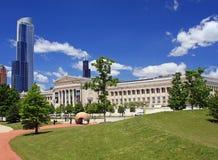 Campus del museo de Chicago en un día claro Fotos de archivo libres de regalías