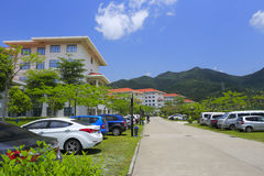 Campus des Xiamen-Verwaltungsinstituts Lizenzfreies Stockfoto