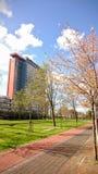 Campus du TU Delft Image libre de droits