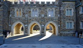 The campus of Duke University in Durham, North Carolina Stock Images