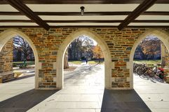 The campus of Duke University in Durham, North Carolina Royalty Free Stock Images