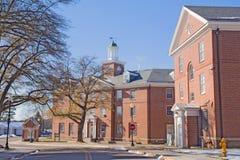Campus einer historisch schwarzen Universität stockbilder