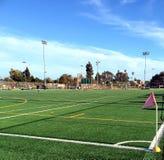 Campus en sportterrein in de voorsteden Stock Fotografie
