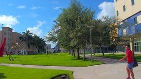 Campus internacional de la Universidad de la Florida almacen de video