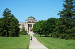 The campus of Iowa State University Royalty Free Stock Image