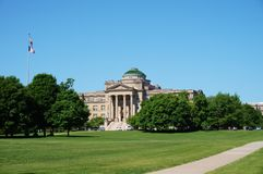 The campus of Iowa State University Royalty Free Stock Images