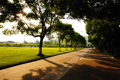Campus Landscape Royalty Free Stock Images