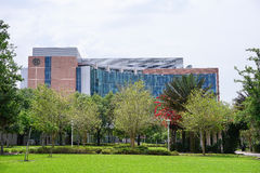 Campus landscape: ISA Stock Photography