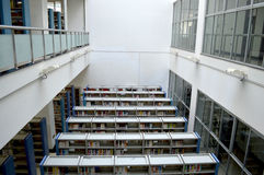 Campus library. In Beijing, China University of Mining Library Stock Image