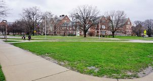 The campus of Michigan State University. EAST LANSING, MI -Founded in 1855 as the Agricultural College of the State of Michigan, Michigan State University (MSU) Royalty Free Stock Images