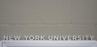 The campus of New York University NYU in Manhattan Royalty Free Stock Image
