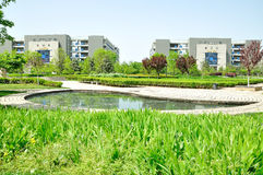 The campus of Northwestern Polytechnical University Royalty Free Stock Images