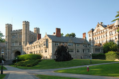 Campus of Princeton University in New Jersey Stock Images