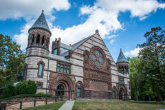 The Campus of Princeton University. Princeton University is a Private Ivy League University in New Jersey, USA Stock Photos