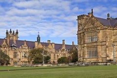 Campus principal de la universidad de Sydney Imágenes de archivo libres de regalías