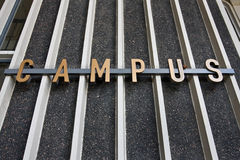 Campus sign Royalty Free Stock Image