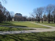 Campus universitário Fotos de Stock Royalty Free