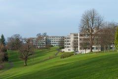 Campus universitario foto de archivo