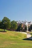 Campus universitario fotografía de archivo libre de regalías