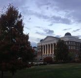 Campus universitario de Belmont Imagen de archivo