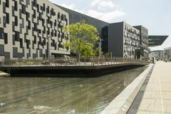 Campus universitario de Viena imágenes de archivo libres de regalías