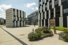 Campus universitario de Viena foto de archivo libre de regalías