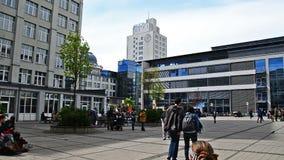 Campus universitario del estudiante de Jena Germany metrajes