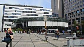 Campus universitario del estudiante de Jena Germany almacen de video