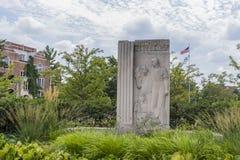 Campus universitario dello stato del Michigan Immagine Stock